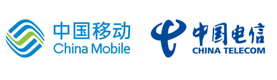 China Mobile and China Telecom